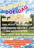 Vakantie doe dag 23-7-2016  op het Gelderlandplein