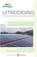 Informatieavond over zonnepanelen - 9 april