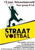 12 juni Straatvoetbal toernooi